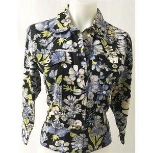 Jackets & Blazers - Blue Jacket Size Petite Small